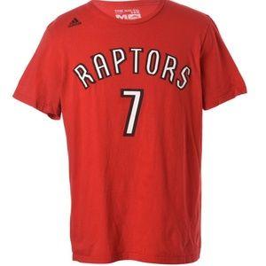 Authentic NBA Raptors Kyle Lowry Adidas T-shirt M